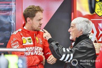 Ecclestone, Vettel'i alması için La...