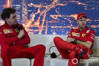 "Binotto: ""Vettel, Mercedes'e giderse mutlu oluruz"""
