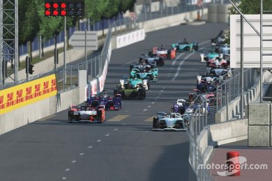 Formula E Race at Home Challenge Ne...