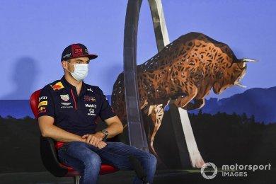 Verstappen, Red Bull'un simülatöründe hiç sürüş yapmamış