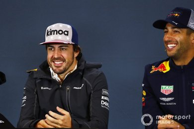 Ricciardo, takım arkadaşı olarak Vettel yerine Alonso'yu tercih ediyor