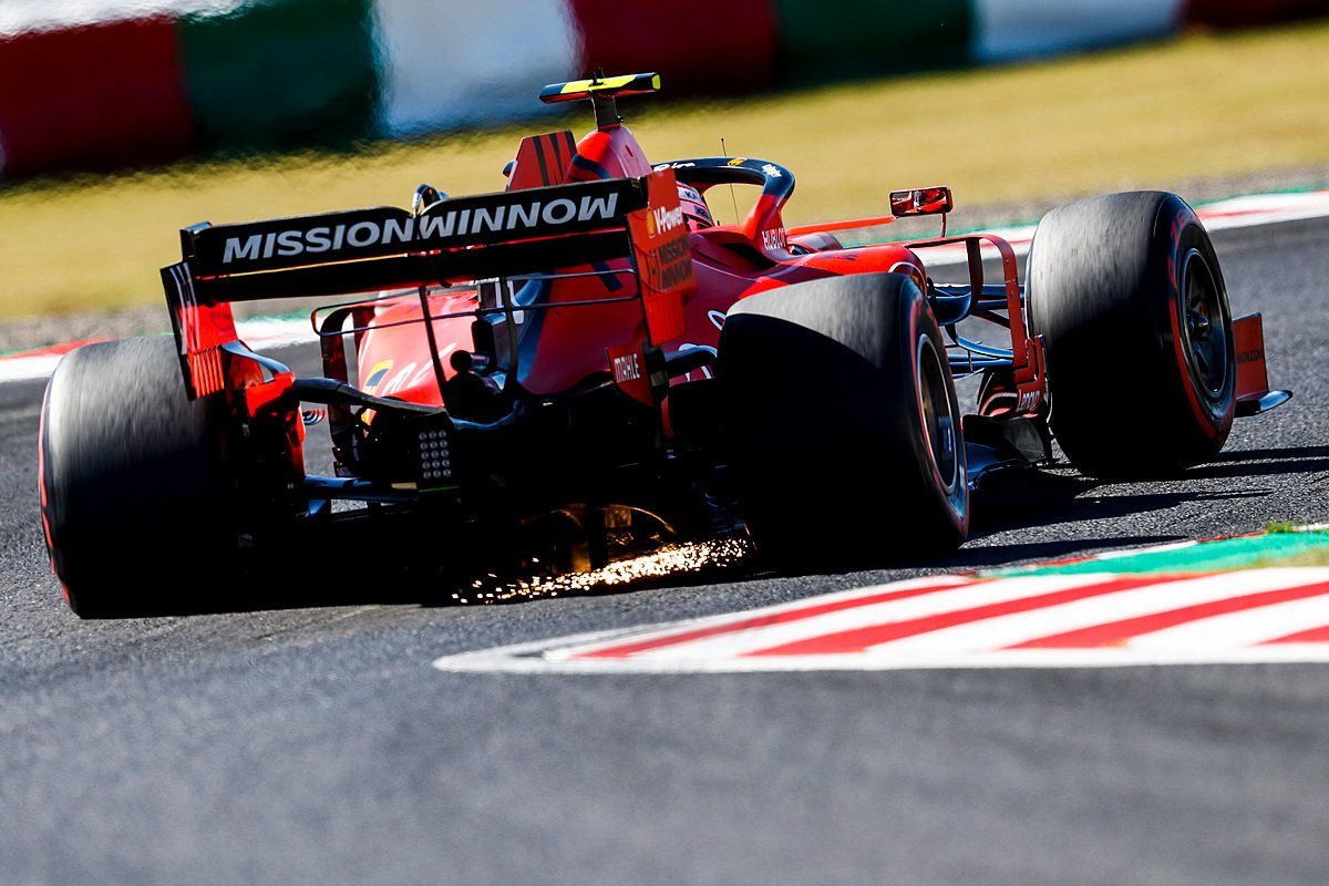 Japonya GP 2019 - Charles Leclerc (Ferrari SF90)
