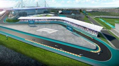 Formula 1 yeni pistini resmen açıkladı!
