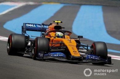 """McLaren, Fransa GP'de """"hayatta kala..."""