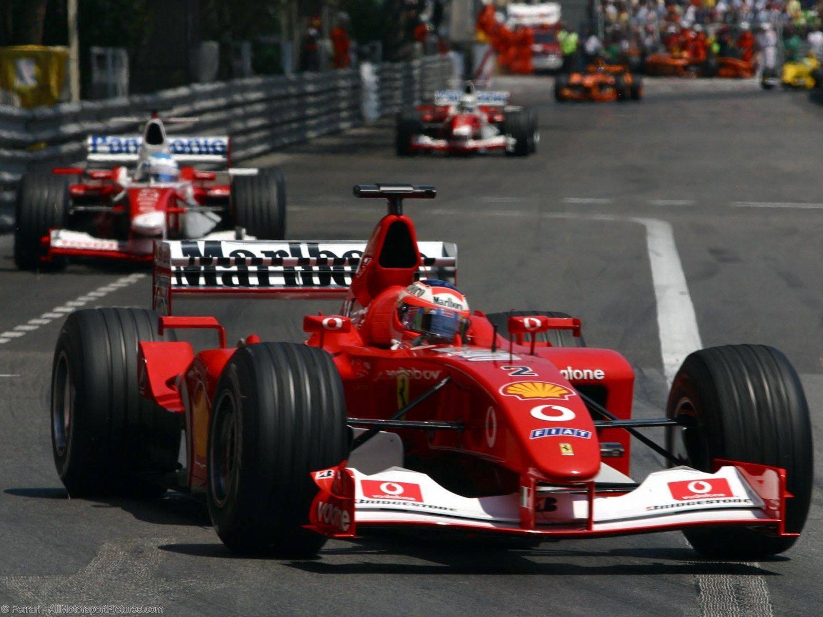 Monaco GP 2002 - Rubens Barrichello...