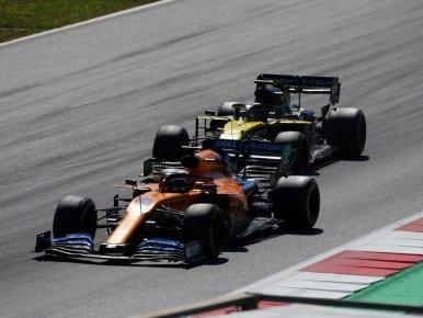 McLaren Renault'nun 'parti modunu' ...
